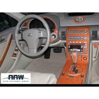 INFINITI G35 G 35 G37 G 37 2007 2008 2009 INTERIOR WOOD DASH TRIM KIT