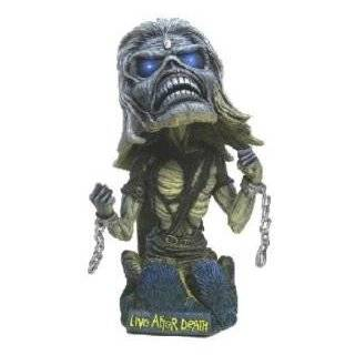 Neca Iron Maiden Eddie Trooper Head Knocker Bobble Head 8
