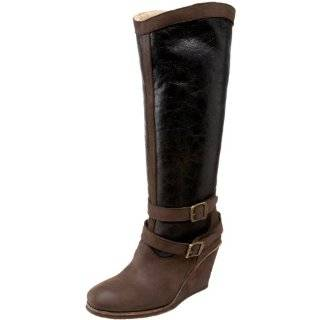 Yin Womens Brown Knee High Boot Shoes
