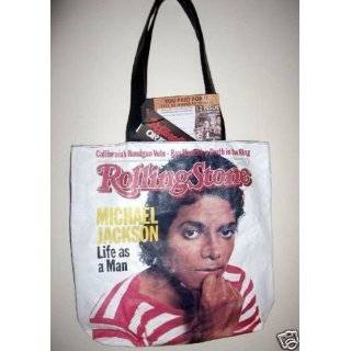 Michael Jackson Rolling Stone Magazine Cover Limited Edition Tote Bag