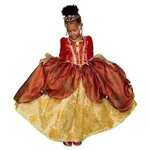 Exclusive Princess Belle Deluxe Red Holiday