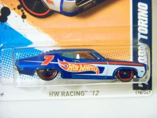 Hot Wheels 1970 Ford Torino Diecast Car