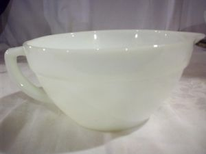 Fire King White Batter Bowl