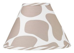 Sweet JoJo Designs Lamp Shade for Giraffe Animal Print Baby Kid Teen Bedding Set