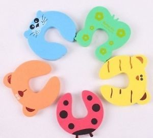 Cute Baby Kids Child Children Finger Protect Safe Guard Door Stopple Stopper