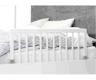 Baby Dan Wooden Bed Guard Rail White Baby Child Toddler Kids Bedding Safety BN