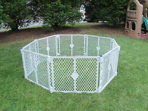 Superyard XT 8 Panel Play Yard Pen Gate Baby Pet Dog North State