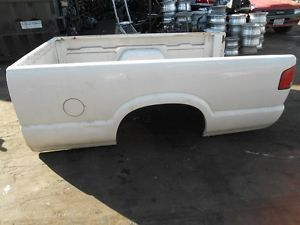 ✔ 94 03 Chevy S10 S15 Pickup Truck Bed Long Box White 02 01 00 99 98 97 96 95