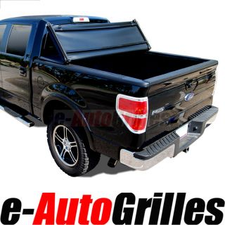 2004 2012 04 12 Ford F150 5 5ft 5 5' Short Size Truck Bed Tri Fold Tonneau Cover