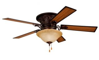 "Ellington Fans MEY54ORB5C1 Classic Indoor 5 Blade 54"" Ceiling Fan with Light Kit"