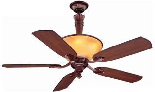 "Ceiling Fan 52""Transitional Light Aged Bronze Ansley"