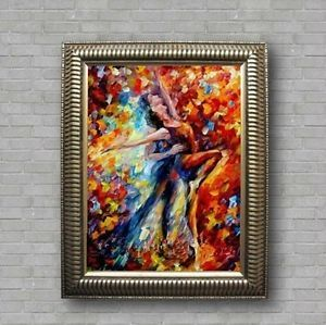Modern Abstract Canvas Oil Painting