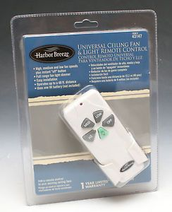 Harbor Breeze 43147 Universal Ceiling Fan Light Remote Control New SEALED