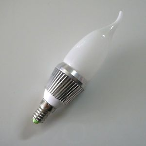 10x 5W E14 High Power Warm White LED Candle Light Bulb Lamp Crystal Chandeliers