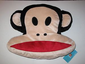 "Paul Frank Julius Monkey Bedding Decorative Accent Bed Pillow 16"" x 13"""