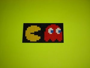 Custom Lego Set NES Pac Man for Display on Desks and Tables P Figure