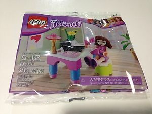 Lego Friends Olivia's Desk Polybag Set 30102 New