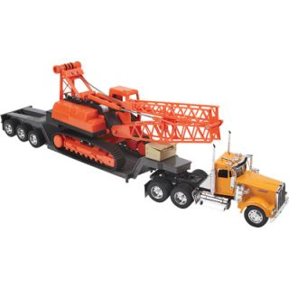 New Ray Die Cast Truck Replica Kenworth Big Rig with Crane 1 32 Scale 11293