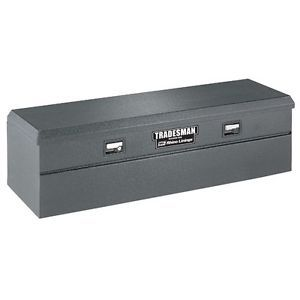 Tradesman Rhino Lined Flush Mount Single Lid Truck Tool Box