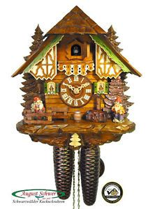 Black Forest Cuckoo Clock 8 Day The Garden Gnomes New