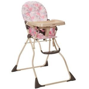 New Baby Booster Cosco Slim Fold High Chair Toddler Folding Infant Seat Feeding