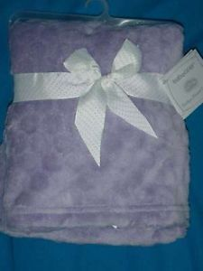 BabyGear Baby Gear Purple Super Soft Crib Blanket