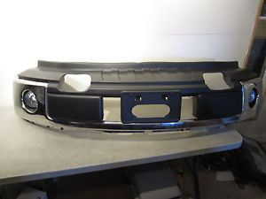 2009 2012 Ford F150 Front Bumper New Chrome Fog Lights Included OEM
