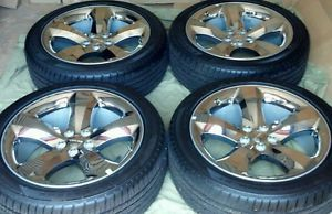 New 2013 Dodge Challenger Charger 20 inch Wheels Tires SRT8 R T Factory OEM