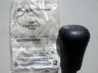 New 1994 1998 Ford Mustang Black Gear Shift Knob Change Lever F4ZZ7213C