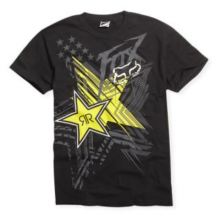 Fox Racing Rockstar Energy Showcase T Shirt Motocross