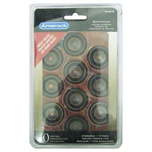 "Amerock TEN1586 ORB Inspirations 1 1 4"" Cabinet Knobs Oil Rubbed Bronze 10 Pack"