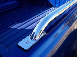 Truck Bed Side Rail SS Rails 80 96 Ford Pickup 8 ft L B