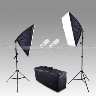 1000W Photostudio Continuous Light Kit Soft Box Softbox