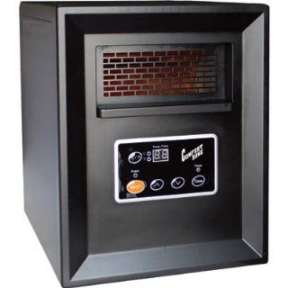 Comfort Zone Infrared Quartz Heater 3413 BTU 1000 Watts Model CZ2011P New