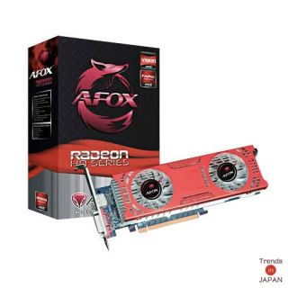New Radeon HD 6850 GDDR5 Afox AF6850 Graphics Card Low Profile Dual Fan Japan