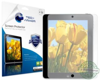 Tech Armor Apple New iPad 4 3 2 Anti Glare Anti Fingerprint Screen Protector New