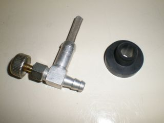 Fuel Gas Tank Bushing Shut Off Valve for Generators Snapper Coleman Generac