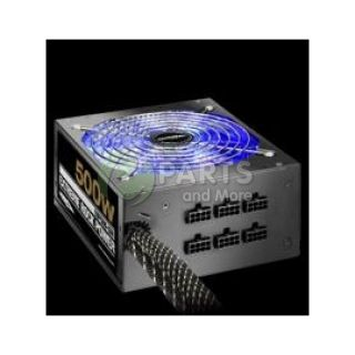 Sentey Power Supply ERP 500 SM 500W ATX 12V V2 2 120mm Fan 4 x SATA Black