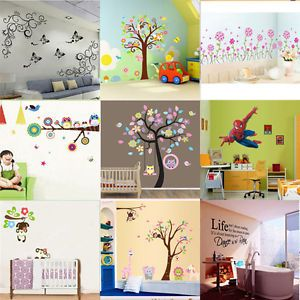 Room Art Mural Wall Sticker Decal
