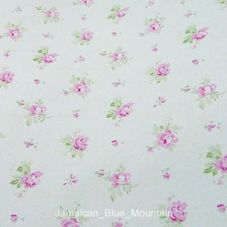 Rose Pattern Removable PVC Self Adhesive Wall Contact Paper 5M 16ft