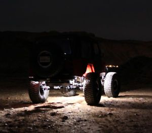 LED Rock Lights for Jeep 4x4 Off Road Fender Lighting