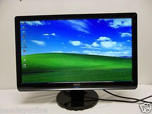 "Dell 22"" Widescreen Full HD LCD LED Monitor DVI w HDCP VGA HDMI ST2220LC PRR51"