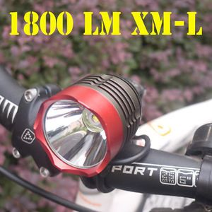 1800 Lumens CREE XM L T6 LED Bicycle Light Lamp and Headlight