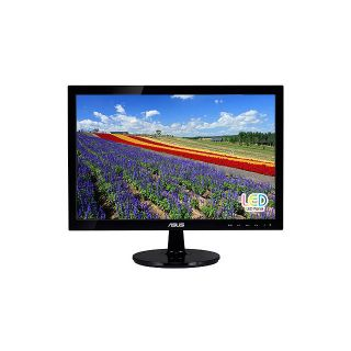 "New Asus VS197D P 18 5inch 19"" Widescreen 5ms 50000000 1 LED LCD Monitor Black 610839379095"