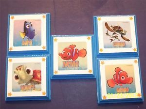 Disney Pixar Finding Nemo Wall Plaques Decor Bedding Plaques Signs Kids Room 6