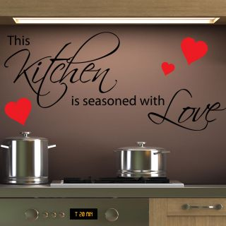 Kitchen Vinyl Wall Quotes