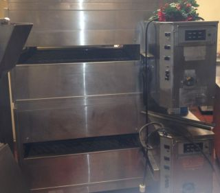Lincoln Impinger Double Stack Pizza Oven Natural Gas