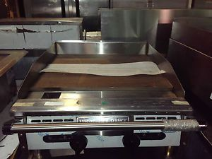 "Restaurant Equipment Commercial Gas Griddle Flat 24"" Grill Cooking Equipment"