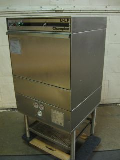 Champion U LF Commercial Dishwasher Under Counter Needs Repair