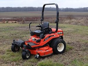 "Kubota ZD21 Zero Turn ZTR Riding Lawn Mower with 60"" Pro Deck Video"